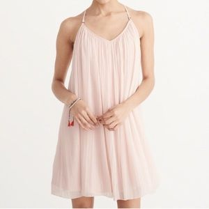 Blue babydoll Abercrombie and Fitch Chiffon Dress